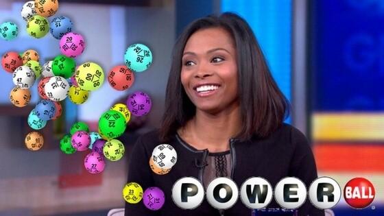 Marie Holmes Powerball Winner