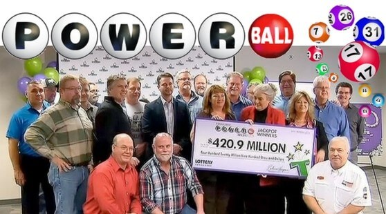 Tennesee Twenty Powerball Winners
