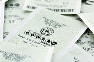 NJ Powerball ticket