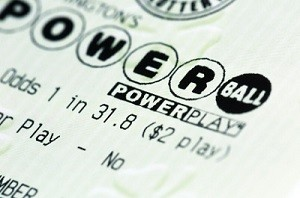 NJ Powerball Lottery Ticket